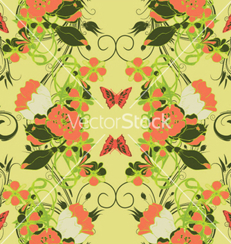 Free retro seamless pattern vector - Free vector #264571
