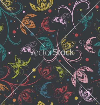 Free retro seamless pattern vector - Free vector #264801
