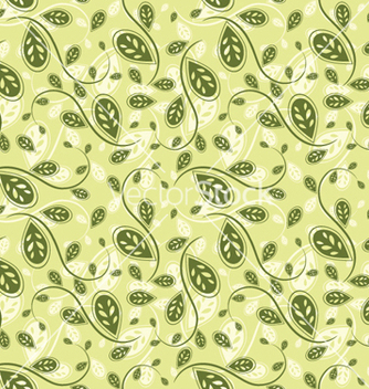 Free seamless floral background vector - Free vector #264961