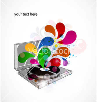Free colorful concert poster vector - Free vector #265171
