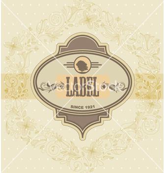 Free vintage label vector - бесплатный vector #265441