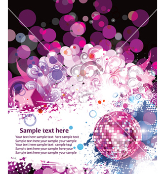 Free colorful concert poster vector - Free vector #266061