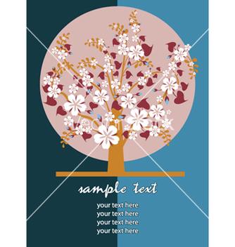 Free retro floral vector - Free vector #266421