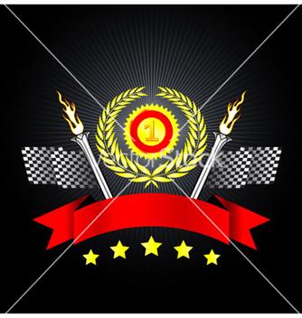 Free racing emblem vector - Free vector #266591
