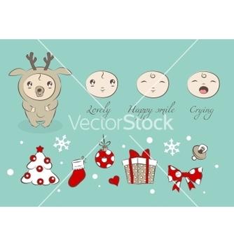 Free baby vector - Kostenloses vector #266881