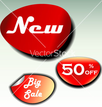 Free labels for big sale new and discount vector - Free vector #267061