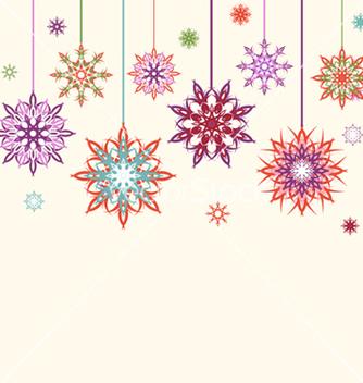Free snowflake flowers vector - Free vector #267101