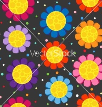 Free flowers background vector - Free vector #267131