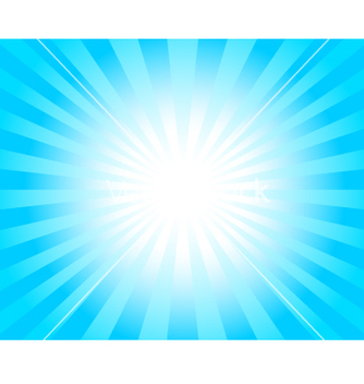 Free light rays vector - vector gratuit #267191