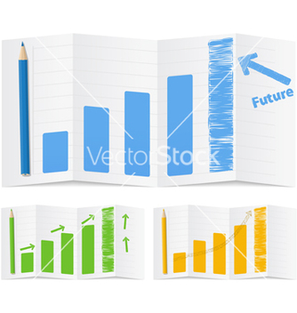 Free bar graphs vector - Free vector #267221