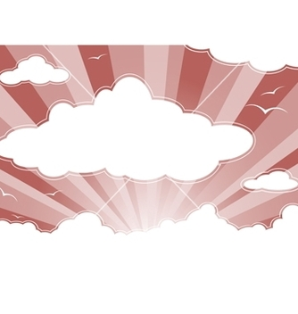 Free evening sky vector - vector gratuit #267241