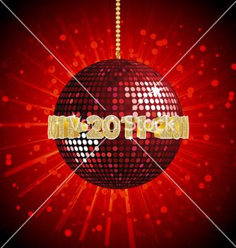 Free 2011 disco ball vector - Free vector #267811