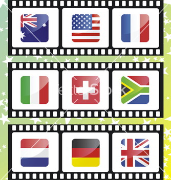 Free national flags of vector - vector #267821 gratis