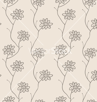 Free floral seamless pattern vector - Free vector #267881