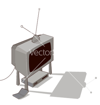 Free television vector - Free vector #267891