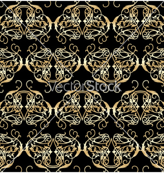 Free floral seamless background vector - Kostenloses vector #268401