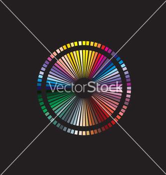 Free color spectrum vector - Free vector #268661