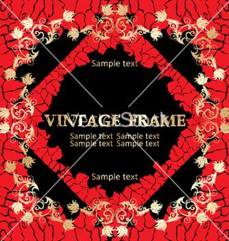 Free vintage frame vector - Kostenloses vector #268941