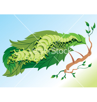 Free caterpillar vector - бесплатный vector #268991