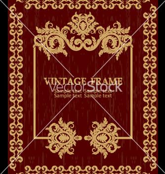 Free vintage frame vector - Free vector #269141