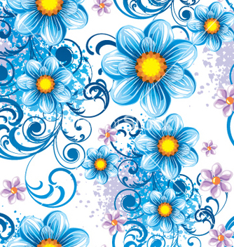 Free seamless pattern vector - Kostenloses vector #269171