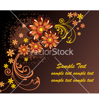 Free floral frame vector - Free vector #269331