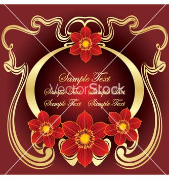 Free floral design vector - бесплатный vector #269361