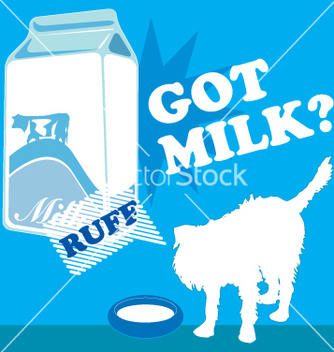 Free got milk vector - бесплатный vector #269371