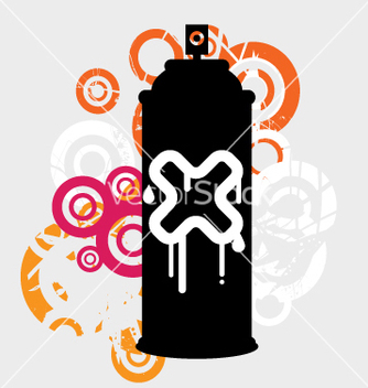Free spray can vector - Free vector #269531