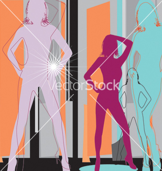 Free artistic women vector - Free vector #269541