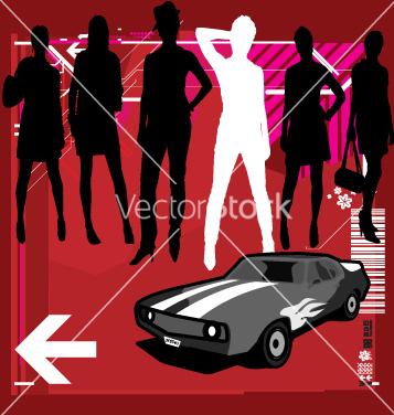 Free fast women vector - бесплатный vector #269811