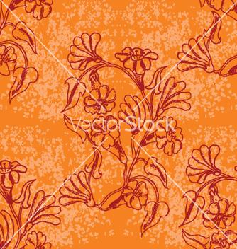 Free floral wallpaper vector - Free vector #269821