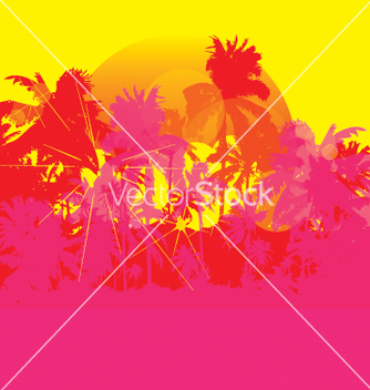 Free summer background vector - бесплатный vector #269891