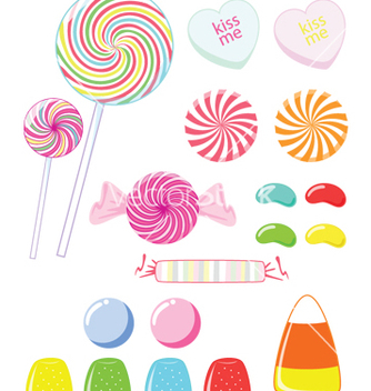 Free candy vector - Free vector #269971