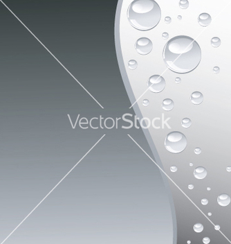 Free grey wave with bubbles vertical vector - vector gratuit(e) #270041