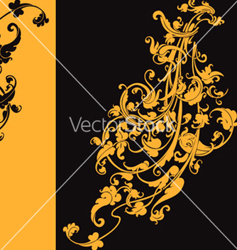 Free artistic swirls vector - Free vector #270121
