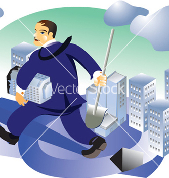 Free realstate businessman vector - Free vector #270131