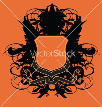 Free heraldry shield vector - Free vector #270531