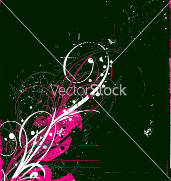 Free graphic bloom grunge vector - Free vector #270551