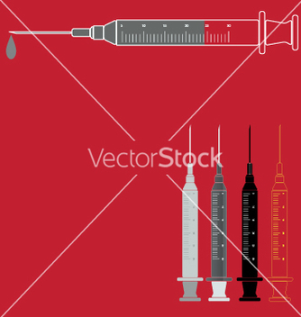 Free syringe vector - Free vector #270561