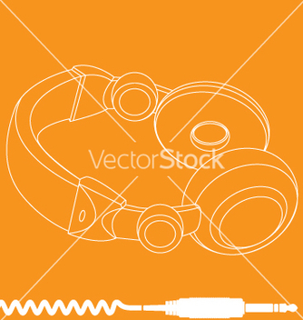 Free headphones vector - Kostenloses vector #270601