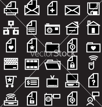 Free web icons vector - Free vector #270631