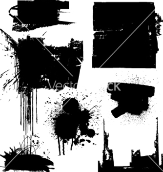 Free grunge blocks vector - бесплатный vector #270681