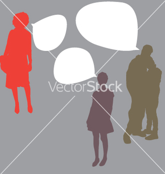 Free talking people vector - vector #270821 gratis