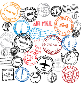Free postmarks vector - Free vector #270861