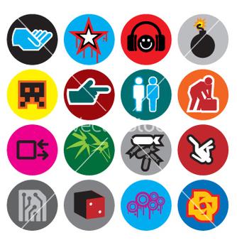 Free logo candy vector - бесплатный vector #270901