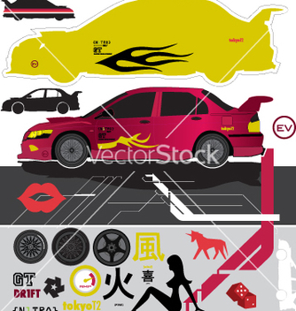 Free pimp my car vector - Free vector #271131