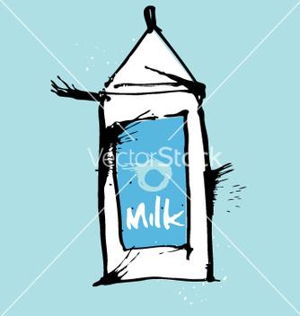 Free milk carton vector - Free vector #271231