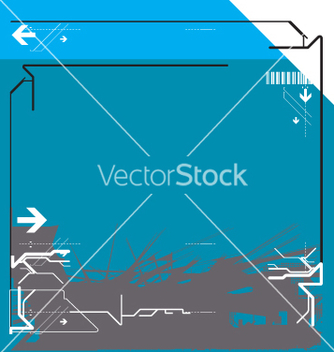 Free high tech background vector - бесплатный vector #271301