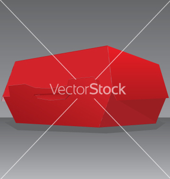 Free hamburger box vector - vector gratuit #271311